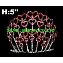valentine's day tiara crown, heart tiara
