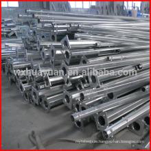 Zinc plating steel post