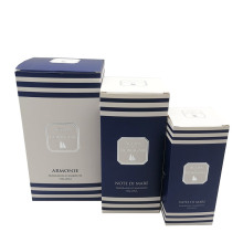 Printed Recycled Cardboard Paper Custom Cosmetic Cream Jar Boxes with Insert