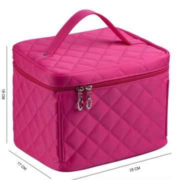 Nylon Kosmetiktaschen Single Layer Travel Make-up Taschen