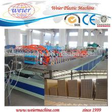 2013 new hot sale 1000mm width PVC/PP/PE Wood Plastic door product line/production machine