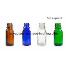 Garrafas de vidro para óleo essencial, perfume, cosmético com conta-gotas