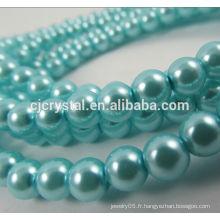Perles en verre perles lâches