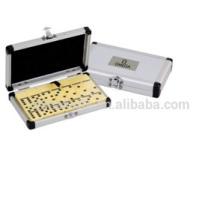 Aluminium-Box-Domino-Spiel, Domino-Set