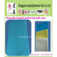 Couvercle de lit jetable médical et chirurgical non polluant