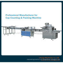 Máquina de embalagem de vidro de contagem automática do preço de fábrica