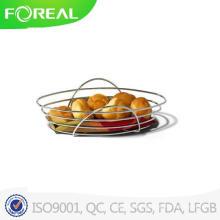 Spectrum St. Louis Oval Metal Bread Basket