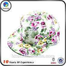latest floral print pattern snapback cap