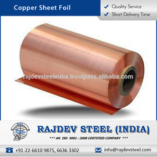 Excellent Strength Cost Effective Copper Sheet Foil with Long Service Life