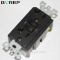 UL gelistet Barep 20A 125V, manipulationssicherer GFCI Outlet, weiß gfci 20A