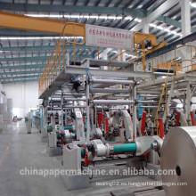Línea de producción de tableros de papel Fabricación de papel
