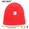 Nouveau design chapeau d'hiver rayé