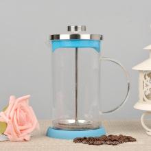 Presse française de café de verre résistant à la chaleur 800ml