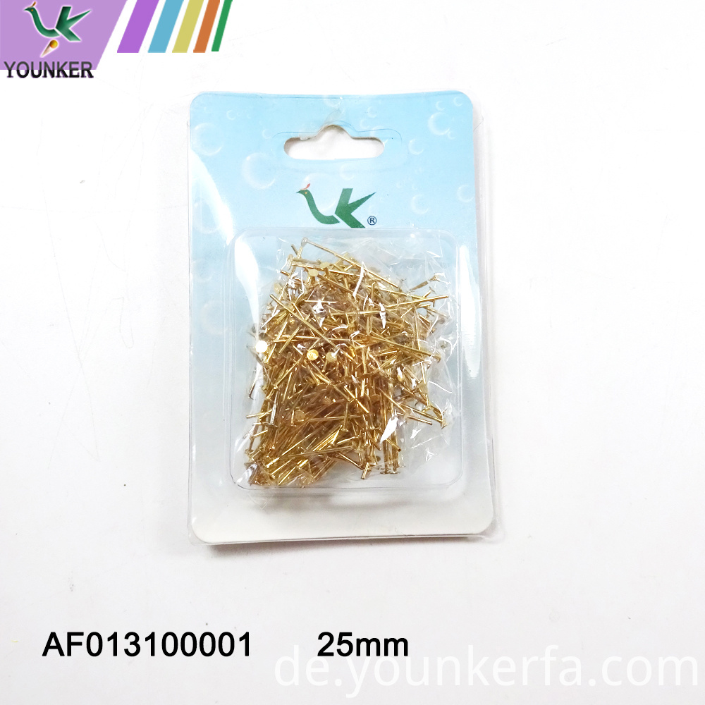 Gold Color T Shape Pin For Diy Accessory