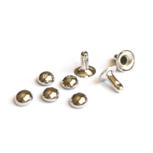 Silver Half Ball Rivets for Clothing 4mm