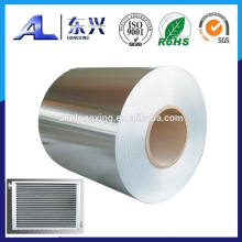Claded fin aluminum foil