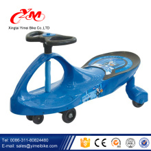2017 hot selling kids toys baby carrier pedal car with music/good baby toys swing cars/baby ride on car swing children pedal car