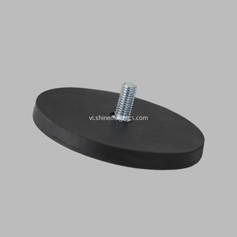 pot magnet round base D88