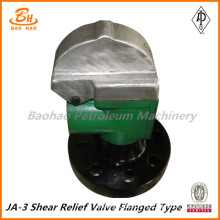 Factory Produce JA-3 flange shear relief valve