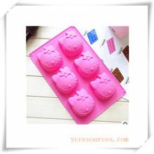Molde de silicón ovalado de 16 cavidades para jabón, pastel, magdalenas, brownie y más (Ha36017)