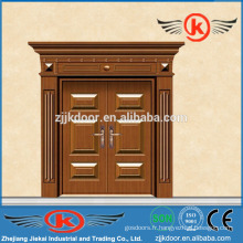 Porte d'entrée revêtue de cuivre commerciale JK-C9045 avec une qualité élevée