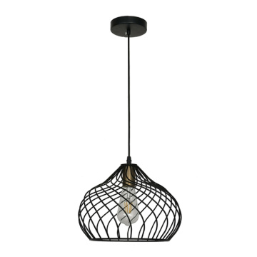 Lampe à suspension Edison Bulb Modern Iron Cage