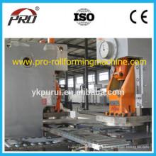 Linha de produção de barril de aço de baixa velocidade / Equipamento de bateria de aço 205L