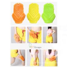 Bequemer Handmassageersilicone Massage-Bad-Handschuh für Hautpflege