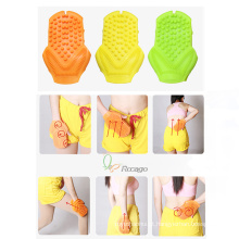 Luva Handheld conveniente do banho da massagem de Massagersilicone para cuidados com a pele