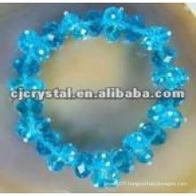 Crystal shambala bracelet