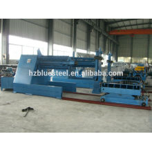 automatic steel coil 10T hydraulic decoiler with coil feeding car