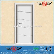 JK-P9217 Brazil style white laminated doors for kitchen cabinet
