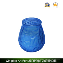 Filled Glass Citronella Candle for Outdoor Garden