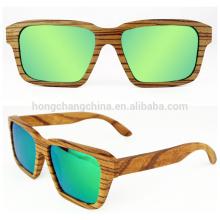 Gafas de sol modernas de madera, gafas personalizadas de madera.