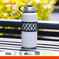 2016 Vaccum Stainless Steel Double Wall Popular Sport Water Bottle with Sleeve