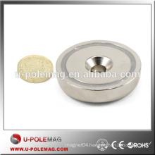 High Pull Force N42 Neodymium POT Magnet