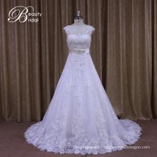 Аппликация кружева-line свадебные платья с бисером кушак