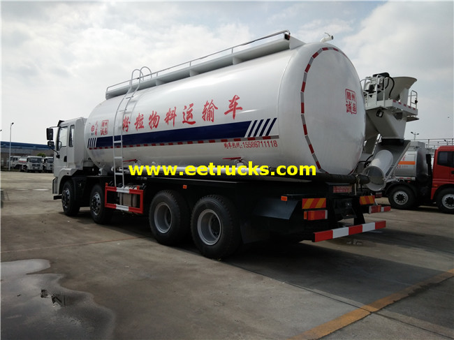 8x4 Dry Powder Transport Trucks