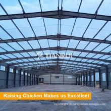 Construção pré-fabricada da construção de aço da exploração avícola
