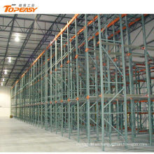 storage steel drive-in rack for warehouse racking system
