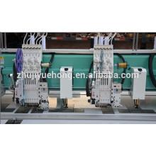 YHM612 + 12 (Flat + simple lentejuelas + bobina simple + chenille) Máquina de bordado