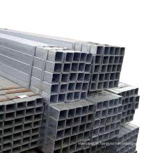 Factory price galvanized pipe GI rectangular tube greenhouse iron prices