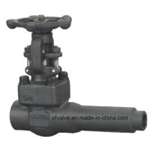 API602 Forged Steel A105 Extended Body Welding End Gate Valve