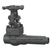 API602 Aço Forjado A105 Válvula de Válvula de Extremidade para Soldagem de Corpo Estendido