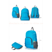 OEM Logo Nylon Portable Foldable Promotional Backpack for Travel