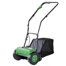 Cortador de grama sem fio do cilindro com coletor da grama
