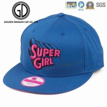 Chapeau de snapback de chapeau de sport de base-ball de haute qualité de broderie 3D de grosse bouffée