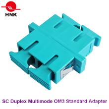 Sc Duplex Multimode Om3 Adaptateur Fibre Optique Plastique Standard