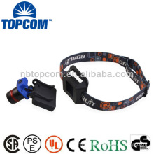 Hunting led zoom headlamp for cap