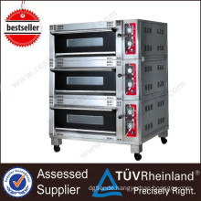 Commercial Restaurant Equipment Luxury 3-Layer 6-Tray Electric 3 Deck Oven